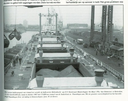 First bulk shipment of fishmeal 1967