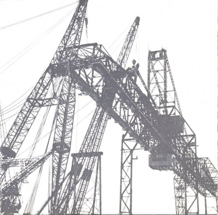 Erecting gantry-crane 1953