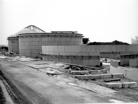 construction of silos 1965