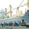 mv Anette  christening ceremony